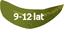 liść z kategorią wiekową 9-12