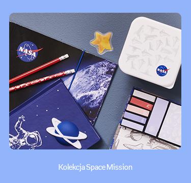 baner kierujący do produktów z kolekcji NASA