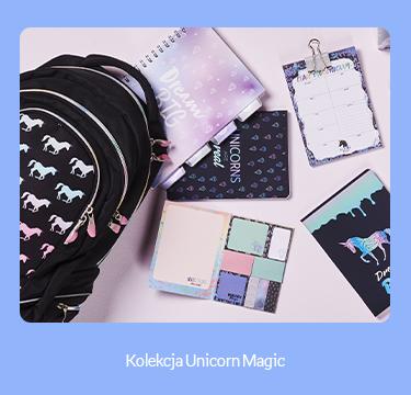 baner kierujący do produktów z kolekcji Unicorn