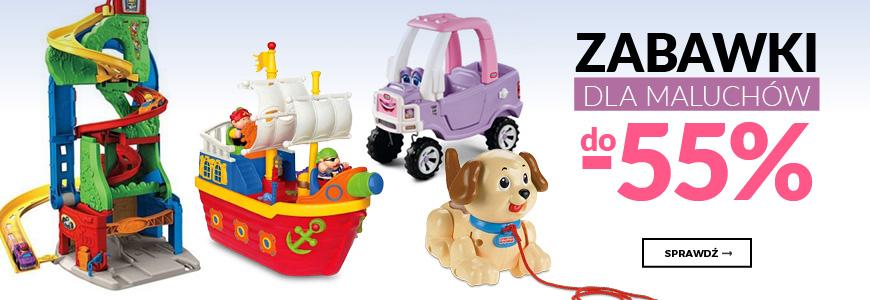 Zabawki dla maluchów do -55%