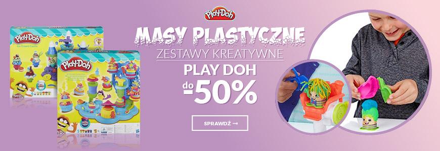 Masy plastyczne, zestawy kreatywne, figurki Play Doh do -50%