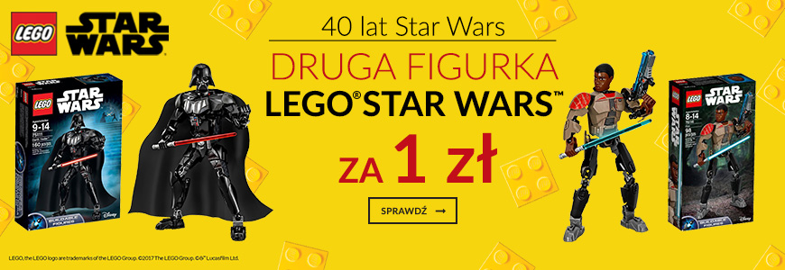 Lego Star Wars - druga figurka za 1 zł
