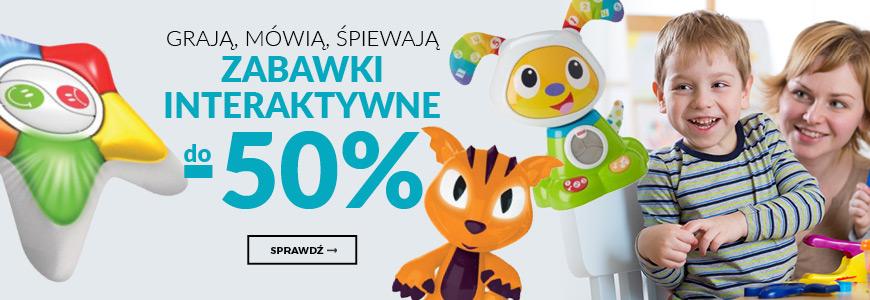 Grają, mówią, śpiewają - zabawki interaktywne do -50%