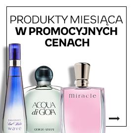 Produkty miesiąca perfumy i kosmetyki