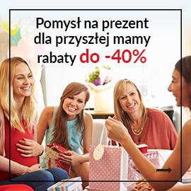 Prezenty dla przyszłej mamy do -40%