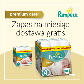 Pampers - darmowa dostawa