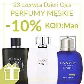 Perfumy męskie z rabatem