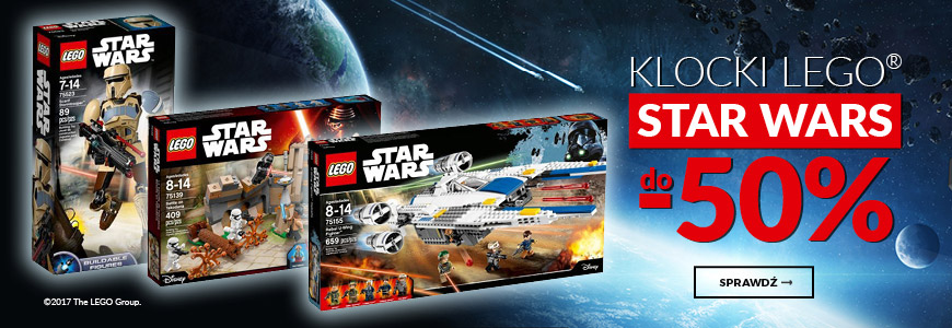 Wyprzedaż Lego Star Wars