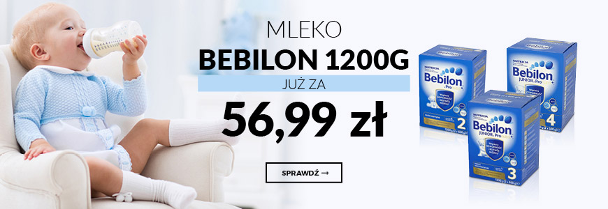 Mleko Bebilon w supercenie