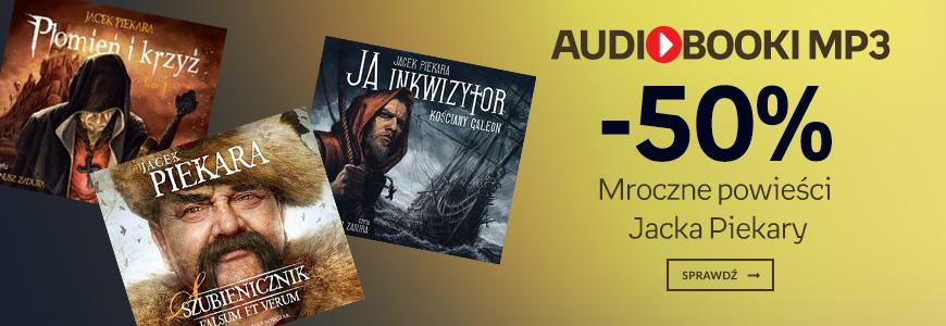 Audiobooki mp3 Jacka Piekary