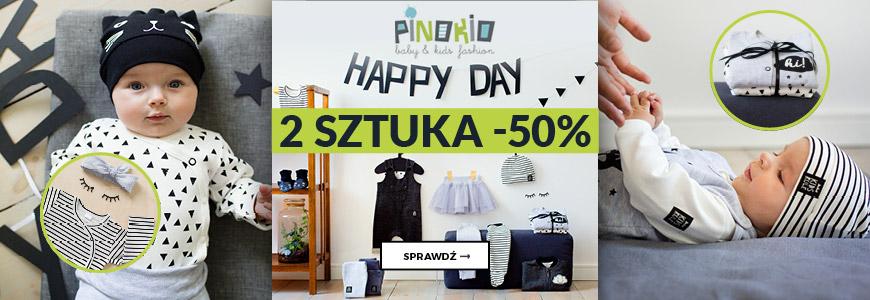 Pinokio - Happy Day - 2 sztuka 50% taniej