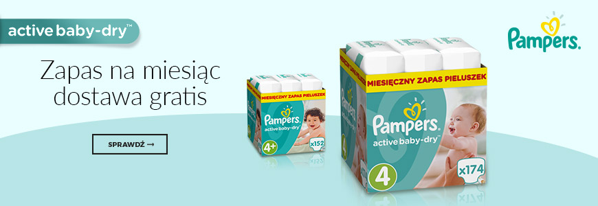 Pampers - free delivery