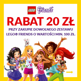 Lego Friends - rabat 20 zł