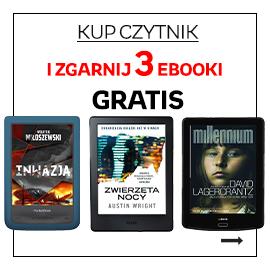 Czytnik + 3 ebooki