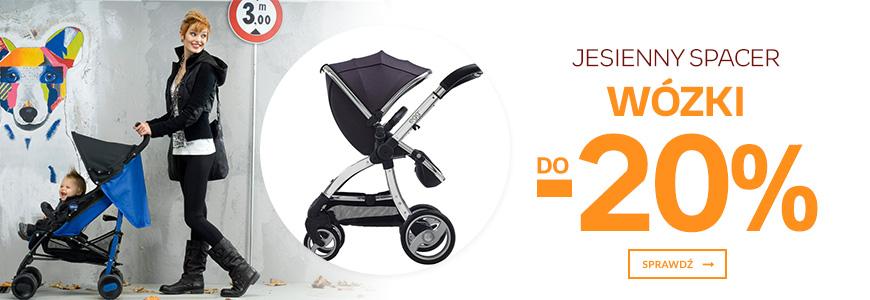 Jesienny spacer - wózki do -20%