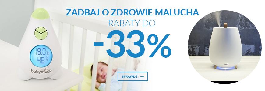 Zadbaj o zdrowie malucha - rabaty do -33%