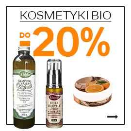 Kosmetyki Bio z rabatem do 20%