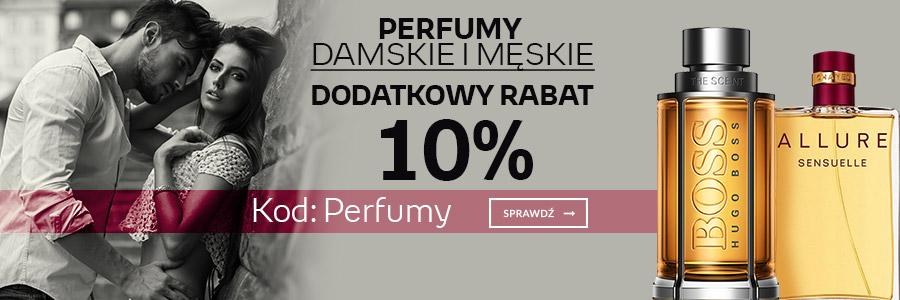 Rabat 10% na perfumy