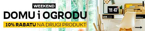 10% rabatu na drugi produkt z kategorii Dom i Ogród