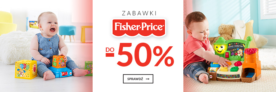 Zabawki Fisher Price do -50%