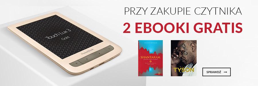 Czytnik + 2 ebooki