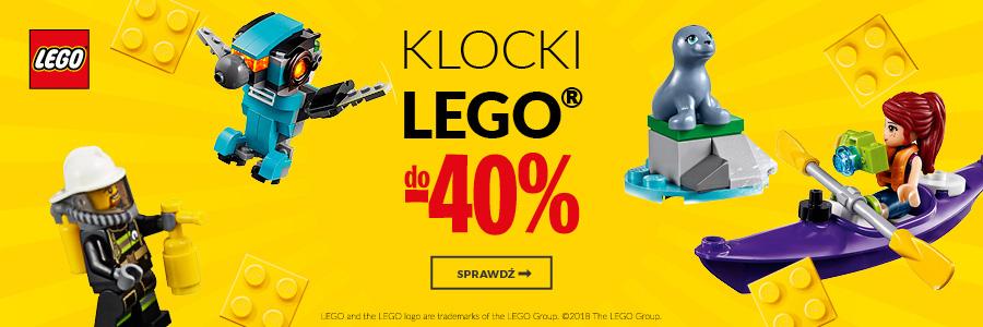 Klocki Lego do -40%