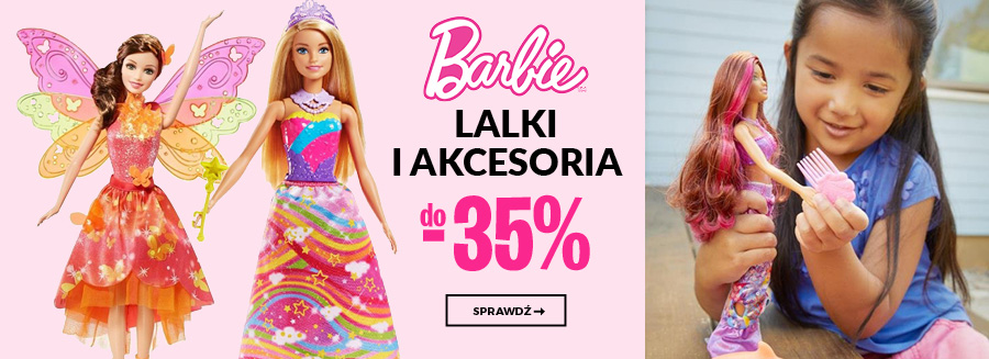 Barbie- lalki i akcerosia do -20%