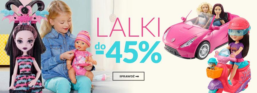 Lalki do - 45%