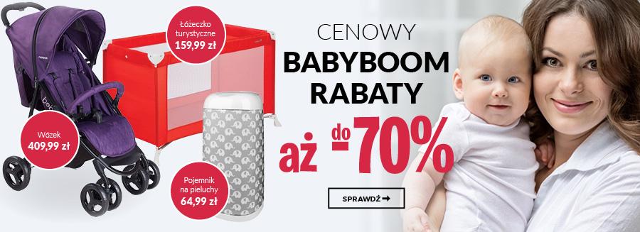 Cenowy BABYBOOM! Rabaty do -70%