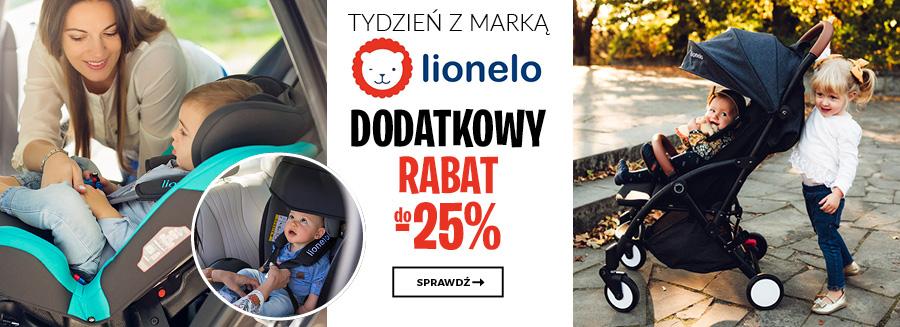 Tydzień z marką Lionelo - dodatkowy rabat do -25%