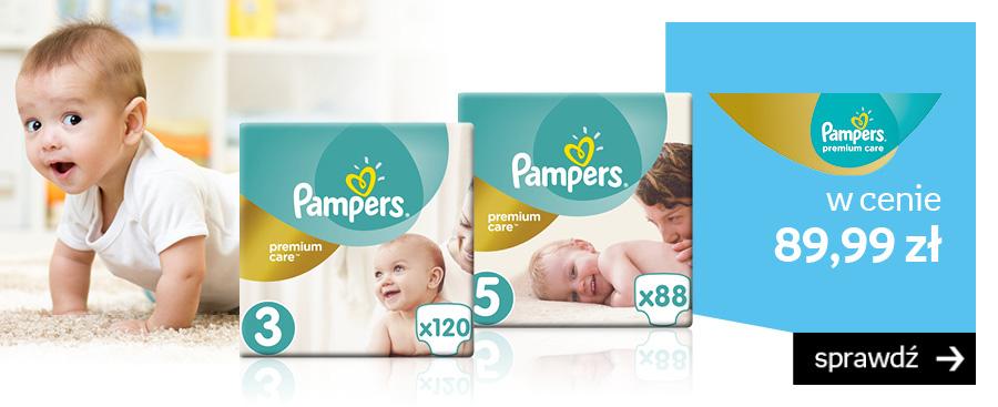 Pampers Premium Care w cenie 89,99