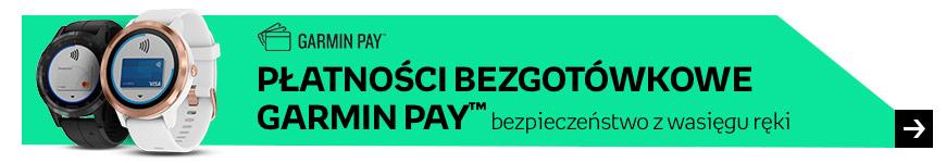 Płatności bezgotówkowe Garmin Pay