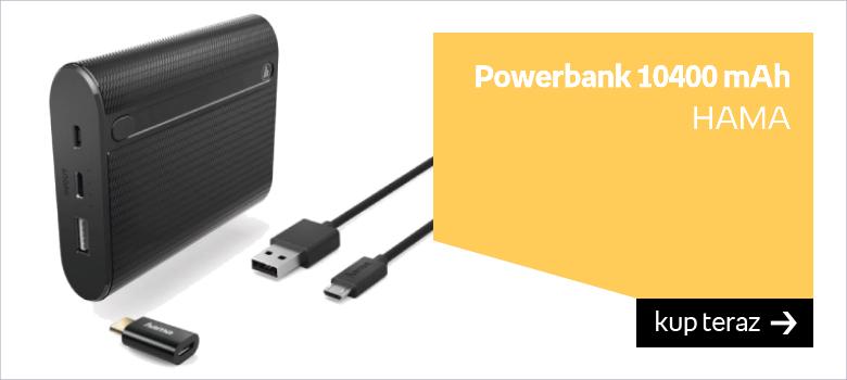 Powerbank 10400 mAh HAMA