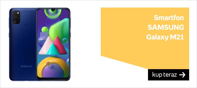 Smartfon SAMSUNG Galaxy M21