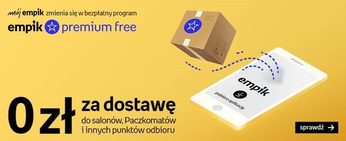 0 złotych za dostawę w Empik Premium Free
