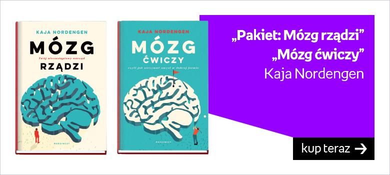 """Pakiet: Mózg rządzi"" ""Mózg ćwiczy"" Kaja Nordengen"