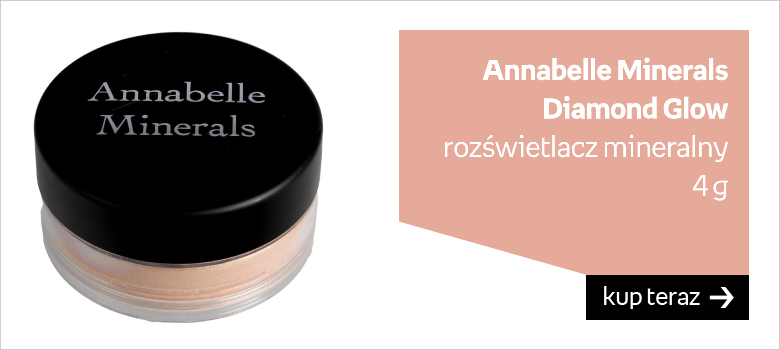 Annabelle Minerals, rozświetlacz mineralny Diamond Glow, 4 g
