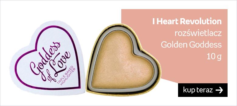 I Heart Revolution, I Heart Revolution, rozświetlacz Golden Goddess, 10 g