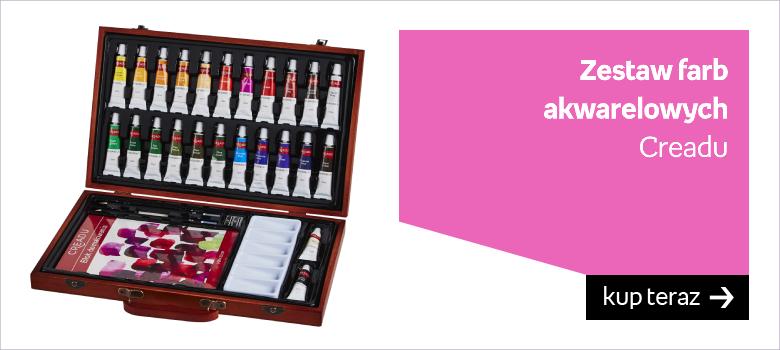 Zestaw farb  akwarelowych  Creadu