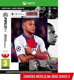 FIFA 21 Edycja Mistrzowska Xbox