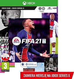 FIFA 21 Edycja Standardowa Xbox