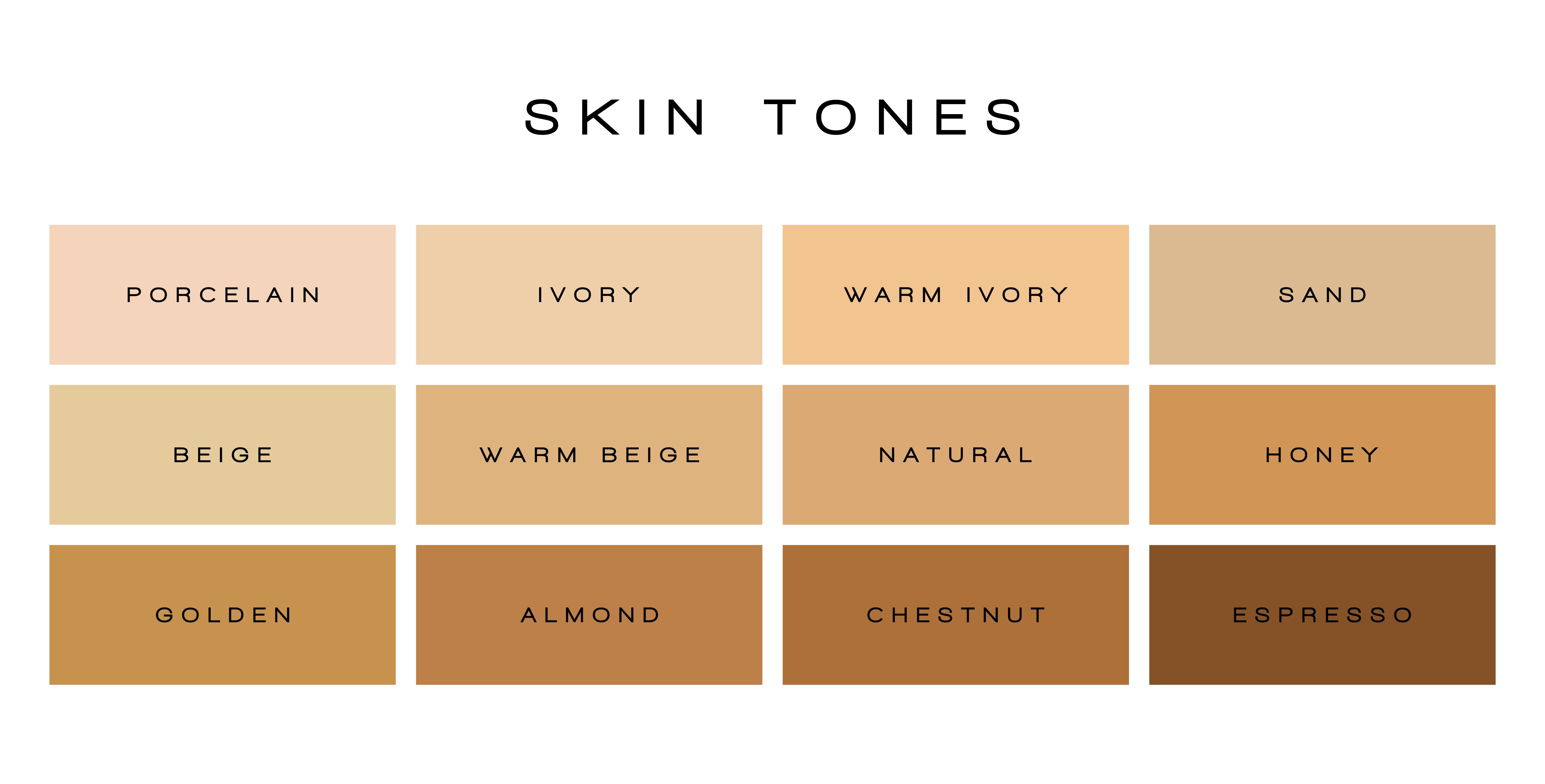 jak rozpoznać odcień swojej skóry?