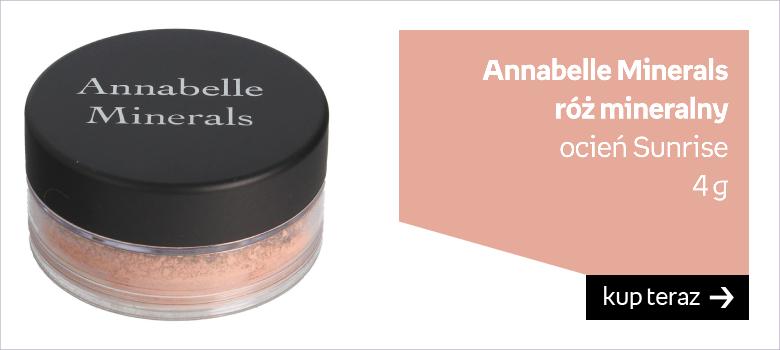 Annabelle Minerals  róż mineralny  ocień Sunrise 4 g