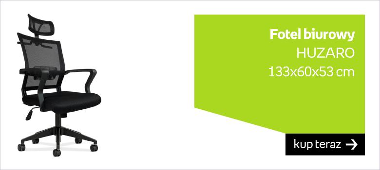 Fotel biurowy  HUZARO 133x60x53 cm