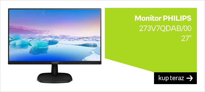 "Monitor PHILIPS 273V7QDAB/00 27"""