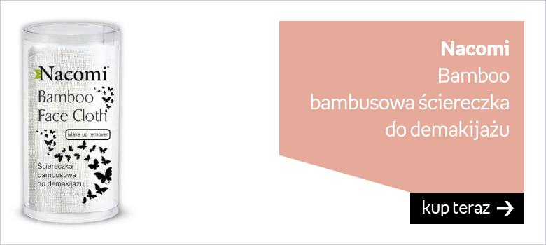 Nacomi Bamboo bambusowa ściereczka  do demakijażu