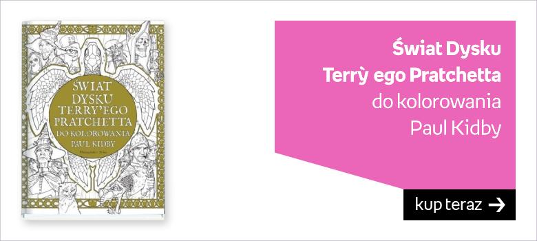Świat Dysku  Terry`ego Pratchetta  do kolorowania Paul Kidby