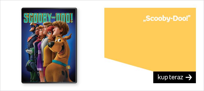Film na prezent dla dziecka Scooby Doo