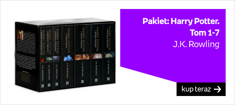 Harry Potter kolekcja ksiażek