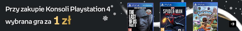 Konsola PS4 z grą za 1 zł